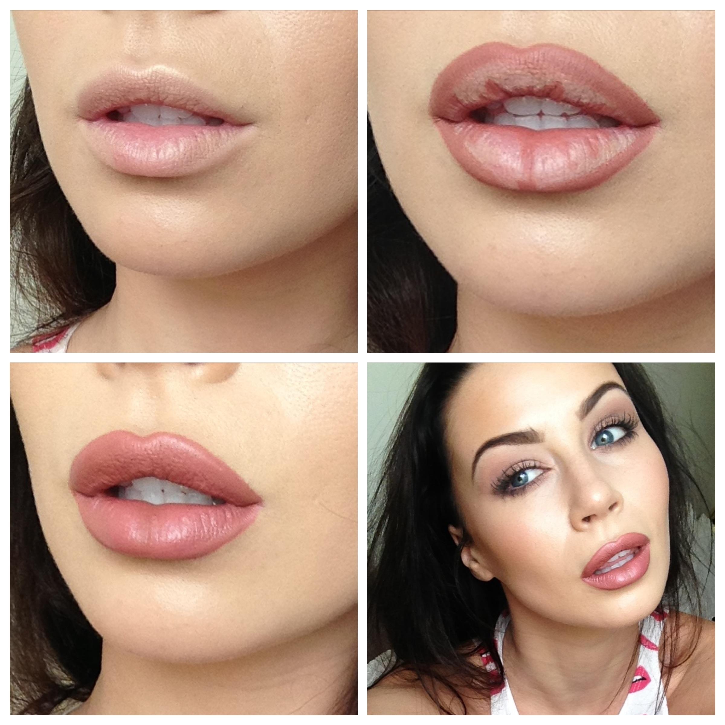Kylie Jenner Logo Lips Google Search: Kylie Jenner Inspired Lipstick Tutorial